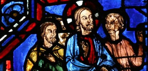 Jésus-Marie-et-les-disciples-se-rendant-à-Cana-Cathédrale-de-Chartres