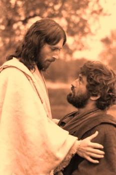 jesus et pierre