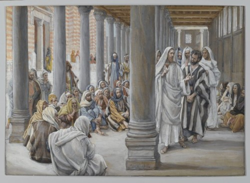 Brooklyn_Museum_-_Jesus_Walks_in_the_Portico_of_Solomon_(Jésus_se_promène_dans_le_portique_de_Salomon)_-_James_Tissot