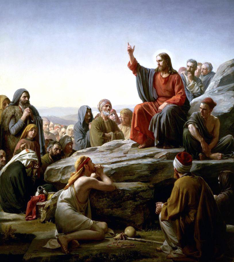 sermon sur la montagne