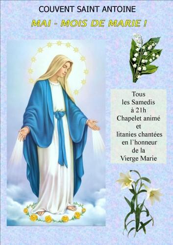 affiche Mois de Marie