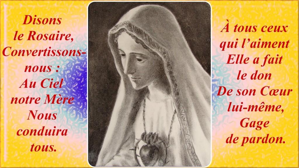 Notre-Dame de Fatima _ Disons le Rosaire !